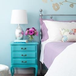 dreamy nightstand decor | dwellinggawker Nightstand Decor