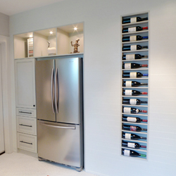 ... Recessed Wine Rack