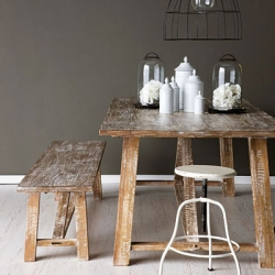 ... Vintage Industrial Dining Table