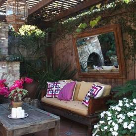small patios ideas wooden garden patio with gazebo small patio ideas - Small Patios Ideas