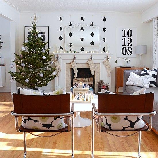 a diy scandinavian modern christmas - Diy Modern Christmas Decorations