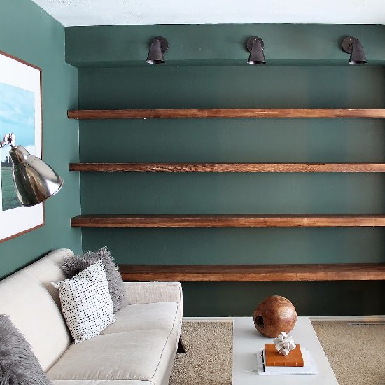 wall shelving gallerydwellinggawker
