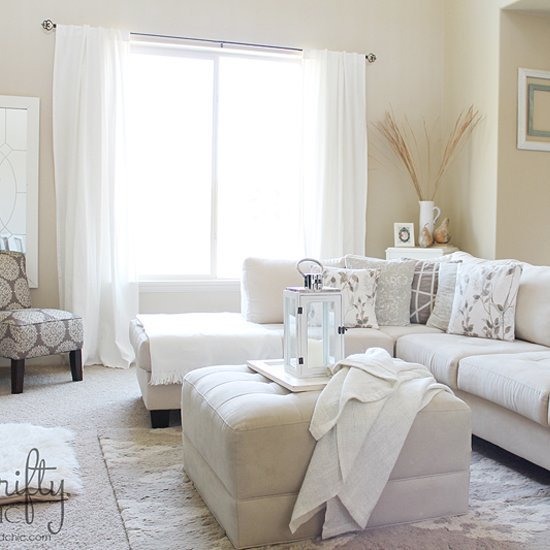 Light Colored Living Rooms Glamorous Light And Bright Living Room  Dwellinggawker Design Decoration