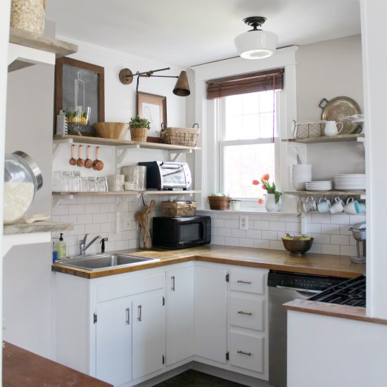 Amazing  DIY Small Budget Kitchen Remodel