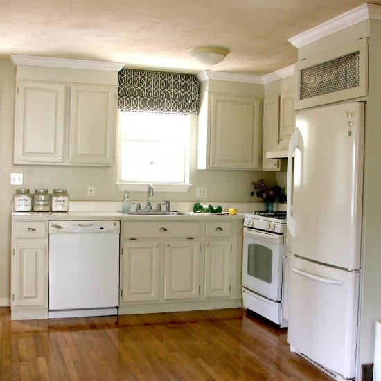 Wonderful ... DIY Kitchen Cabinet Makeover
