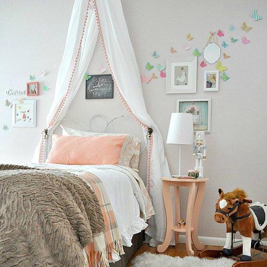 modern princess room reveal | dwellinggawker