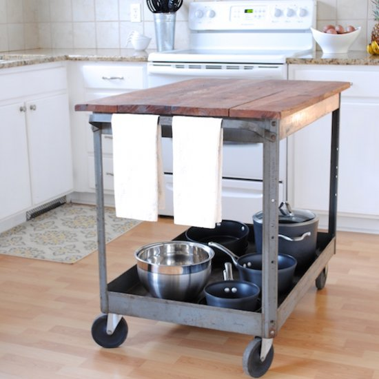 Delicieux ... Industrial Kitchen Island