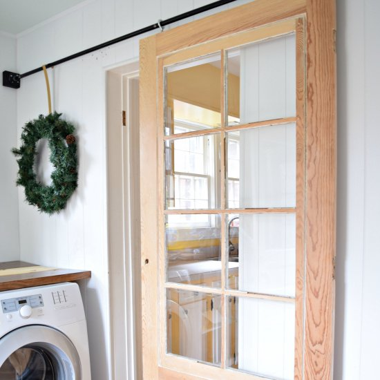 ... Laundry Room Sliding Door