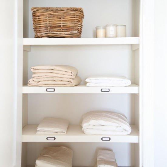 Marvelous  Organize a Hall Linen Closet
