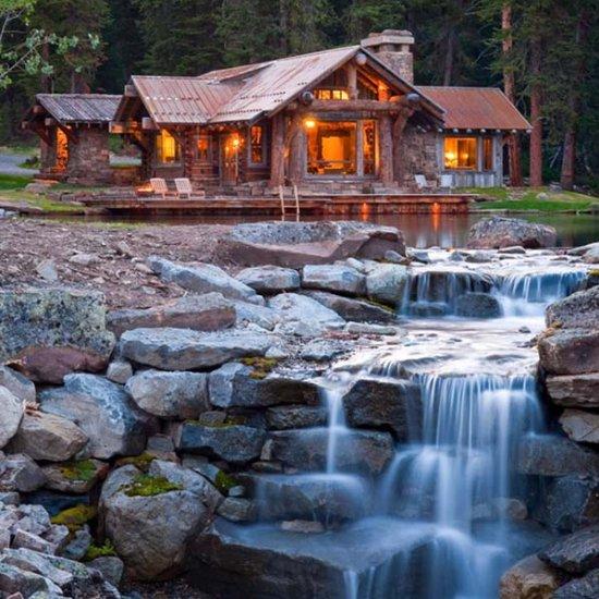 Backyard Waterfall Ideas Dwellinggawker - Backyard waterfall ideas