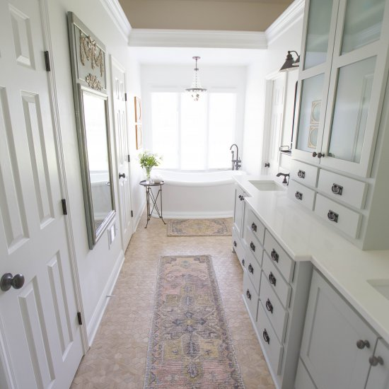 Shabby Chic Master Bathroom. Shabby Chic Master Bathroom Remodel