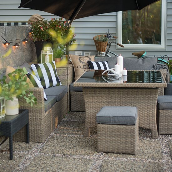 DIY Gravel Base Patio