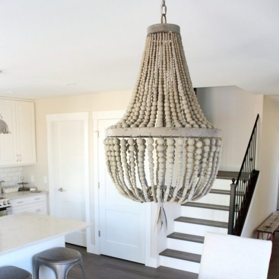 Dining Room Beaded Chandelier