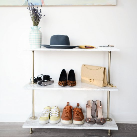 ... DIY Shoe Rack