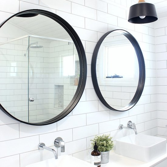 Stunning  A Small but Stylish Ensuite