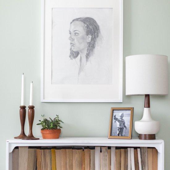 Thrift Store Score: Wooden Candlest