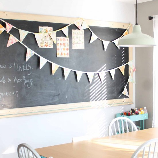 The Story of a Vintage Chalkboard