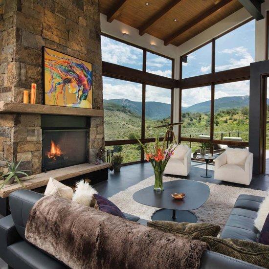 Delightful ... Contemporary Mountain Home