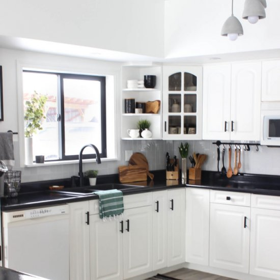 our small but mighty kitchen tour dwellinggawker