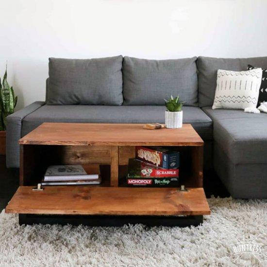Diy Coffee Table Whidden Storage Dwellinggawker